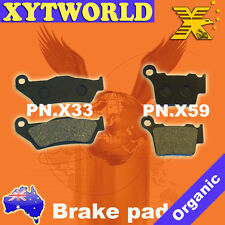 FRONT REAR Brake Pads for KTM EXC 525 2004-2005