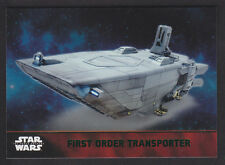 Topps Star Wars - The Force Awakens - Green Parallel Card # 54 FO Transporter