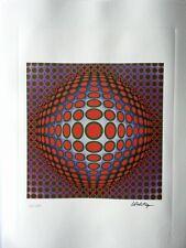 Vasarely Victor - Lithographie signée et numerotée  avec certificat