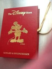 THE DISNEY STORE CAST MEMBER REWARDS AND RECOGNITION PIN HOLDER FOLDER DISPLAY