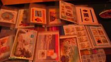 Large stamp collection 7 albums of commonwealth / world sheets HCV lot BARGAIN