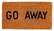 Kempf Go Away Doormat, 16 by 27 by 1-Inch