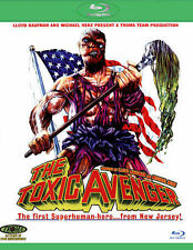The Toxic Avenger (Blu-ray/DVD, 2014, 2-Disc Set) Mitchell Cohen  ***GREAT!!***