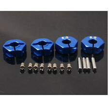 RC HSP For 1/10 Upgrade Part Aluminum 5.0 Wheel Hex Drive With Pins & Screw Blue