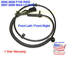 NEW ABS WHEEL SPEED SENSOR for 05-08 Ford F-150 Mark LT RWD Front right / Left