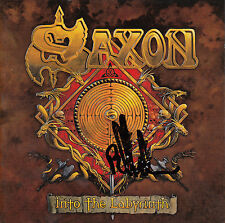 SAXON Into The Labyrinth 2009 SIGNED German 13-track CD + CoA