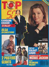 TOP 50 153 (6/2/89) PATRICIA KAAS SOPHIE MARCEAU KRUGER ELSA RENAUD VIKTOR LAZLO