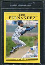 1991 Fleer Update Tony Fernandez #U-123 Mint