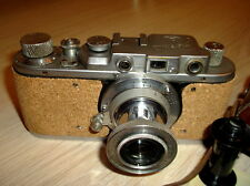 CORK BODY ZORKI 1 First Model Russian Camera Industar 22 1:3.5 F=5CM