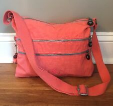 Kipling Alvar Crossbody Nylon Bag-Riverside Crush Orange