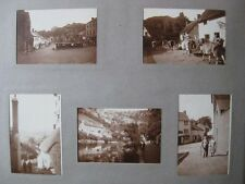 Isle of Man, Dunster, Wales, Bath - Old Photograph Album c1930s - 90 Photos