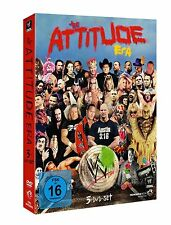 WWE The Attitude Era 3er [DVD] NEU DEUTSCH Steve Austin, The Rock, Triple H
