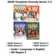 SOAP Complete Comedy Series 1-4 Seasons 1 2 3 4 BoxSet [12 DVD] Region 2 UK NEW