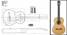 Hermann Hauser II 1967 Classical Guitar Plan