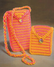 Crochet Pattern ~ ESSENTIAL EYEGLASS & CELL PHONE CASE  ~ Instructions