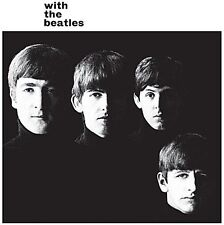 With The Beatles LP cover metal sign (ro)