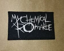 "3.5"" MY CHEMICAL ROMANCE Iron-on Logo PATCH! Perfect for Hat/Shirt/Jacket/Cap"