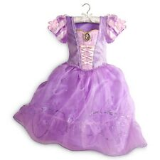 RAPUNZEL Costume Purple Dress w/ Cameo XS Small 4 DISNEY STORE AUTHENTIC Tangled
