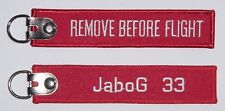 Schlüsselanhänger JaboG 33 - Remove Before Flight  ..........R1043