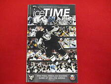 Pittsburgh Penguins Ice Time magazine   Crosby   Last game in Mellon Arena