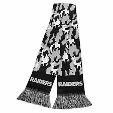 "Oakland Raiders Scarf Knit Winter Neck NEW 65"" - CAMOUFLAGE Camo - 2013"