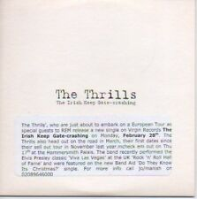 (P124) The Thrills, The Irish Keep Gate-crashing- DJ CD