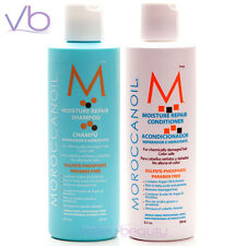 MOROCCANOIL SET Moisture Repair Shampoo and Conditioner, Chemically Damaged Hair