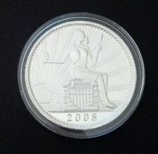 Silver Collectable D.Carr  2008 D UNA 100 AMEROS - Seated Liberty 1 oz