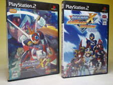 Used PS2 MEGAMAN X7 & X command mission 2games SET ROCKMAN CAPCOM from Japan 905