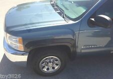 FACTORY STYLE & FINISH FENDER FLARES FOR 07-13 CHEVY SILVERADO 1500 CREW CAB 4D