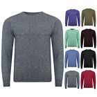 Ex M&S Mens Crew Neck Jumper Sweater Pullover Marks and Spencer 100% Cotton