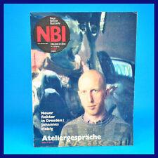 NBI 4/1989 - Reichwalde Halle Magdeburg SEZ Berlin Luxemburg - DDR-Zeitschrift