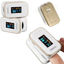 Accurate Acc Rate Finger Pulse Oximeter OLED Blood Oxygen SpO2 PR Monitor Alarm