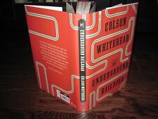 Colson Whitehead Underground Railroad signed limited numbered edition xx/100
