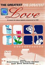 The Greatest Love, 18 Classic Hit Videos (PAL only DVD, 2005) BRAND NEW SEALED
