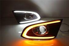 2x White LED Daytime Tube Day Fog Light DRL Run lamp For Chevrolet Captiva 2014