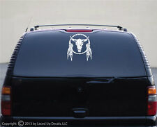 Native American Shield Vinyl Decal,Navajo,Cherokee,Sioux,indian feather,Lg
