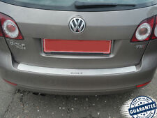 VW GOLF PLUS V VI 2005-14 Rear Bumper Protector Stainless Steel Scuff Sill Plate