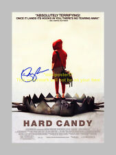 HARD CANDY PP SIGNED POSTER 12X8 ELLEN PAGE