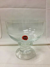 """THOMAS """"TREND"""" SHERBET CHAMPAGNE 4"""" HIGH,NEW CRYSTAL GERMANY ROSENTHAL GROUP"""