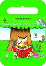 Richard Scarry - Best Imagination Collection DVD - New/Sealed Region 4 DVD