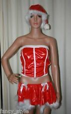 CHRISTMAS XMAS SANTA's DAUGHTER LINGERIE FANCY DRESS COSTUME ONE SIZE + HAT SEXY
