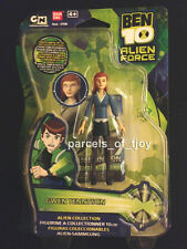 BEN 10 GWEN TENNYSON 4 inch Action Figure Alien Force MOC - BANDAI