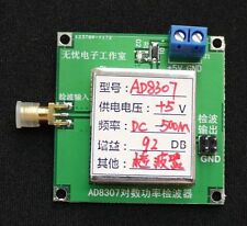 1MHz-500MHz RF Signal Power Detector AD8307 Module Field Detection Meter ALC AGC