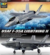 Academy 1/72 USAF F-35A Lightning II Plastic Model Kit 12507 NIB