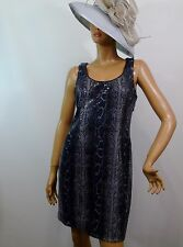 Muse for Boston Proper Sequined Snake Print Cut Out Back Party Dress Size 12 NWT