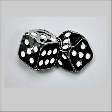 Gürtelschnalle Rockabilly Dices Würfel Lucky Belt Buckle Glücksspiel *044