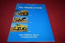 Volvo BM Michigan Euclid Buyers Guide Dealers Brochure DCPA2