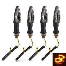 4Pcs Universal Motorcycle LED Turn Signal Blinker Amber light Indicator Bulb