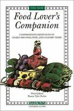 The New Food Lover's Companion - Acceptable - Tyler Herbst, Sharon - Paperback